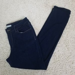 Levis Dark Wash Mid Rise Skinny Jeans Size 16